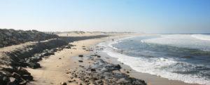 Praia de Silvalde, concelho de Espinho, Portugal